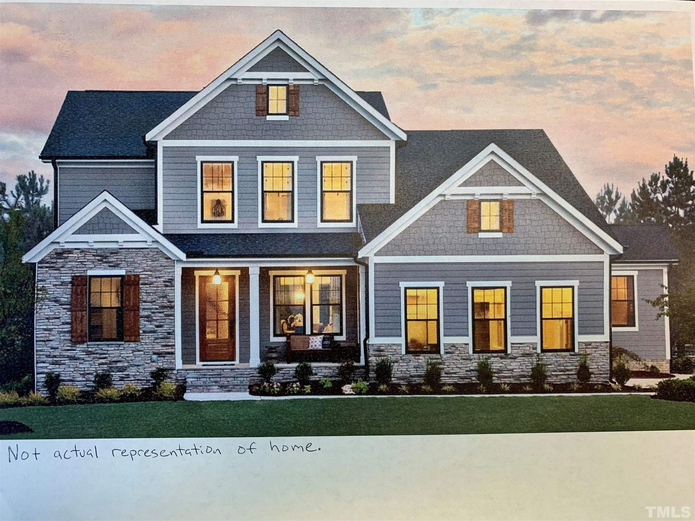 201 Falling Stone Drive, Holly Springs, NC 27540